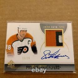 2010-11 SP Authentic Limited Auto Patch Eric Lindros 11/25! RARE