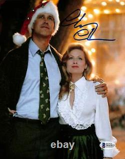 Chevy Chase Christmas Vacation Authentic Signed 8x10 Photo BAS Witnessed 38