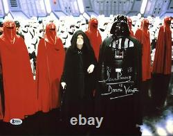 David Prowse Star Wars Darth Vader Authentic Signed 11X14 Photo BAS 2