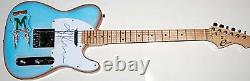 MADONNA Autograph Signed Guitar with EXACT PROOF ACOA AUTHENTIC STUNNING