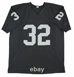 Marcus Allen Authentic Signed Black Pro Style Jersey BAS Witnessed
