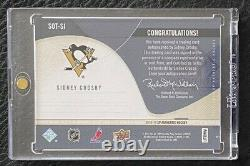 Sidney Crosby 2010-11 Sp Authentic Sign Of The Times Sott Hard Signed Auto