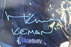 Val Kilmer Top Gun Iceman Authentic Signed 16x20 Photo BAS Witnessed