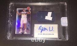 Zion Williamson 2019-20 Panini One And One Rpa Rookie Patch Auto Authentic 32/35